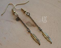 Feather Earrings $8.00