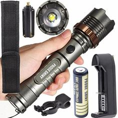Introducing Lisingtool 5000LM XML T6 LED Zoomable Torch Lamp Tactical Flashlight  Battery  Charger. It is a great product and follow us for more updates!
