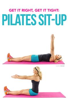 Fitness: How to do a pilates sit-up
