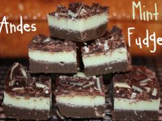 Baking Away: Andes Mint Fudge