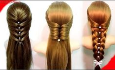 Easy Hairstyles for Long Hair Best Hairstyles for Girls Hair tutorial how to do quick easy side bun hairstyles for everyday prom wedding Two cute updo hairstyles for long or medium hair Please Like Share Cool Braid Hairstyles, Easy Hairstyles For Long Hair, Modern Hairstyles, Girl Hairstyles, Amazing Hairstyles, Best Hairstyles, Wedding Hairstyles, School Hairstyles, Casual Hairstyles