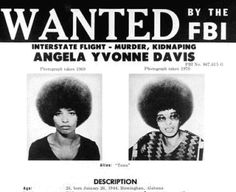 WANTED: Angela Davis