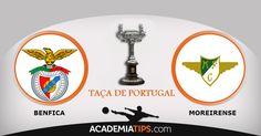 Benfica vs Moreirense: O Benfica recebe o Moreirense num jogo a contar para a 4ª eliminatória da Taça de Portugal. A segunda vez que estas equipas se defrontam...  Tips e previsões do Sport Lisboa e Benfica clique no link abaixo  http://academiadetips.com/equipa/benfica-vs-moreirense-taca-de-portugal/