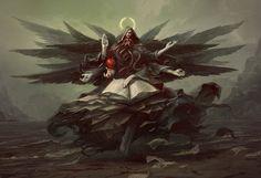 Angel of Death | Angelarium - Series 2 on Behance