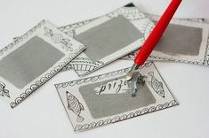 How to Make Tickets for a Lottery: Always I played a souvenir between guests, but they delayed pieces of paper numbers, and so it will turn out much more interestingly. Diy And Crafts, Crafts For Kids, Christmas And New Year, Photo Wall, Presents, Scrapbook, Holiday, How To Make, Blog