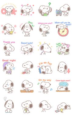 Lovely Snoopy is here to help with those all-important family conversations. There's no better way to reach out to family than the Lovely Snoopy way! Mini Drawings, Cute Easy Drawings, Cute Kawaii Drawings, Anime Stickers, Kawaii Stickers, Cute Stickers, Snoopy Wallpaper, Cartoon Wallpaper, Snoopy Family