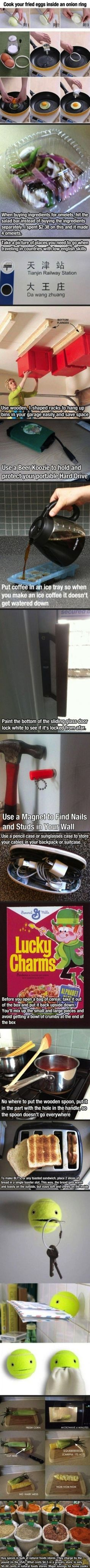 Awesome life hacks for you to use