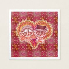 Shop Sugar Skulls Couple Paper Napkins for Wedding created by thaneeyamcardle. Cloth Napkins, Paper Napkins, Sugar Skull Design, Wedding Napkins, Tapestry, Sugar Skulls, Couple, Hanging Tapestry, Tapestries