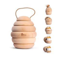 Bzzz Honey: packaging realizado por el estudio Backbone Creativ.