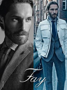 Fay Men's Spring - Summer 2015 Advertising Campaign