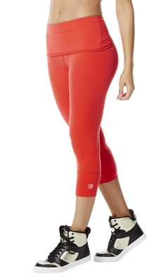DETAILS The So Bootyful Capri Leggings 2.0 perfect fit fabric lifts what needs to be lifted, and smoothes what needs to be smoothed (wink, wink!). Plus, the flared, fold-over waistband creates an incredible silhouette that flatters every body — and every booty! PRODUCT FEATURES • Fold over contouring waistband • Adjustable inner draw cord at waistband • Hidden waistband pocket • 4-way stretch • Fashionable wide leg cuff • Flat lock seaming is smooth against the body • New premium supplex ...