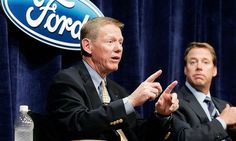 Alan Mulally -- The Ford years -- Automotive News Photo Gallery