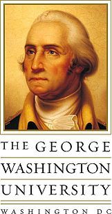 Official Picture of The George Washington University  Motto: God in our trust