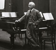 Hungarian composer Béla Bartók, one of the most important of the 20th Century.