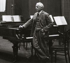 Hungarian composer Béla Bartók