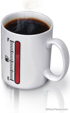 """Tank Up Coffee Mug- $11.97"""