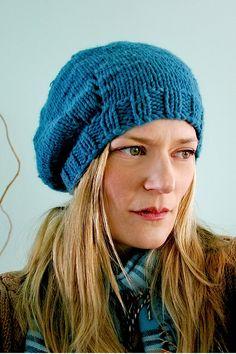 gracie reversable beret. by AndiFitz, via Flickr
