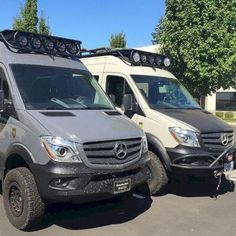 The Best Mercedes Sprinter Hacks, Remodel and Conversion Ideas) – GooDSGN Mercedes Camper, Mercedes Sprinter Camper, Sprinter Van Conversion, Benz Sprinter, Camper Conversion, Mercedes Benz, 4x4 Camper Van, 4x4 Van, Ducato Camper