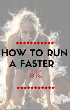 I believe that everyone can learn to run faster, even people who tell me they are not natural runners. Running a faster 5k is a good place to start. These techniques will help you in your quest to a faster 5k in no time. I include Warm-ups, tempo runs, hills, intervals. Try the tips and let me know how you get on.