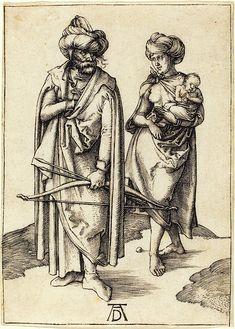 Albrecht Dürer German, 1471 - 1528, The Turkish FamilyAlbrecht Dürer (German, 1471 - 1528), The Turkish Family, c. 1495-1496, engraving  by Quint Lox