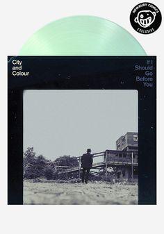 City and Colour - If I Should Go Before You - 2LP Newbury Comics Exclusive Colored Vinyl Pressing - 180 Gram Vinyl Record #lp #gatefold