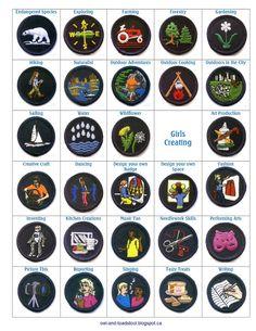 GGC Guide Badges