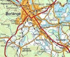 Bildresultat för borlänge karta