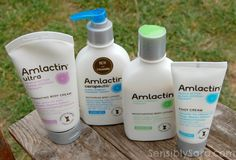 Amlactin WHAT IT IS: An anti-aging body lotion WHAT IT DOES: Hydrates and exfoliates skin- it contains 12 percent lactic acid (alpha hydroxy acid that moisturizes and exfoliates) WHY I LIKE IT: This is a miracle in a bottle for you skin that hydrates extremely well, doesn't feel heavy. It also does wonders to clear up keratosis pilaris (those tiny red bumps that develop on the backs of your arms).