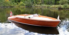 Vintage Chris Craft Style runabout.
