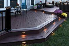 77 Cool Backyard Deck Design Ideas #ad