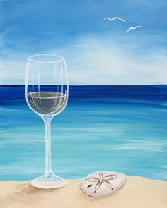 Date Night is calling! Bring a date, and come paint Lovely Day at Pinot's Palette!