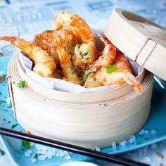 Tempura prawns & scallops w/ Asian dipping sauce Egg Roll Dipping Sauce, Dipping Sauces, Homemade Turkey Gravy, Slow Cooker Recipes, Cooking Recipes, Breakfast Lunch Dinner, Asian Cooking, Asian Recipes, Seafood