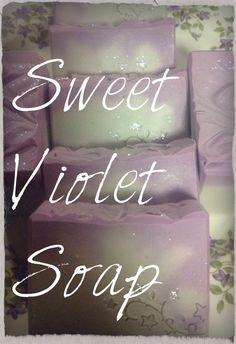 Violet Blossom Soap
