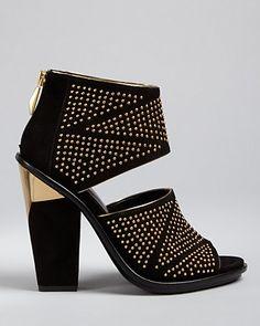 Dolce Vita Studded Sandals - Nita High Heel | Bloomingdale's