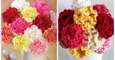 """This year I've set my self a goal to create a new flower each month based on the that month's Birth flower. """"Birth Flowers is a term ..."""