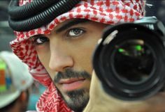 dubai fashion photographer Omar Borkan was deported by Saudi officials for being too handsome....