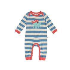 Frugi Baby Striped Romper - Bo Beep Boutique #frugi #octopus #organic #baby #childrensclothing http://www.bopeepboutique.co.uk/collections/products/products/frugi-baby-striped-romper