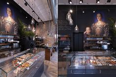 Binary 11 Bakery Cafè by ANDREA LANGHI DESIGN, Milan   Italy store design hotels and restaurants