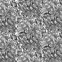 100%  Silk Crepe de Chine, Marbling Black and White  A Beckford Silk design based on marbled book ends.