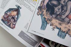 Illustrations dans le magasine Idîle | Caroline Chauveau