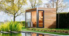 backyard design – Gardening Tips Indoor Outdoor, Outdoor Sauna, Outdoor Living, Sauna House, Sauna Room, Water Plumbing, Sauna Design, Arch House, Spa Rooms