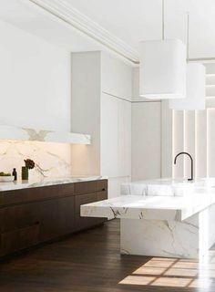 #kitchen #luxurykitchen #marble | 12 inspiring luxury kitchens | @meccinteriors | design bites