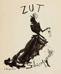 Schiaparelli's Zut, created by Nathalie Feishauer in 1949.
