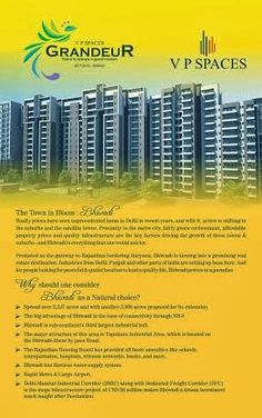 Residential Projects in Bhiwadi: New Launch Residential Project V P Spaces Grandeur...