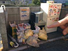 ゴミ捨て場 Dump #diorama