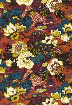 Shanghai Peacock - Cinnabar Going to be another popular pattern like Chiang Mai Dragon! $145