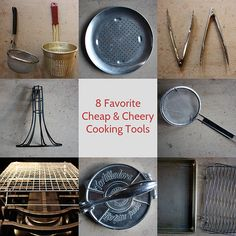 8 favorite, cheap and endlessly useful kitchen tools that I often use. Details on what I do with them are on VWK.