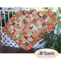 Tapestry Split Nine Patch With Borders Quilt Kit