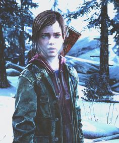 Ellie   The Last Of Us Last Of Us, Beyond Two Souls, Joel And Ellie, Horror Video Games, Oliver Twist, Roman, Wolf, End Of The World, Post Apocalyptic