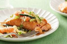 Honey-Balsamic Glazed Salmon Recipe